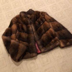 Jackets & Blazers - Ladies real fur beaver jacket small